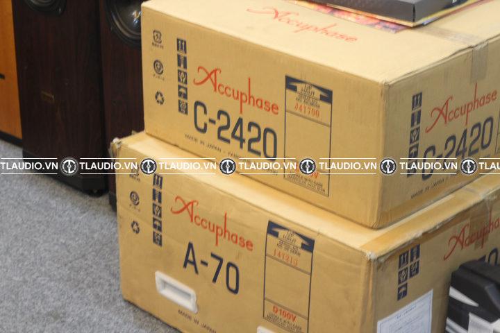 pre amply accuphase c2420 nguyên thùng,giá rẻ nhất hà nội